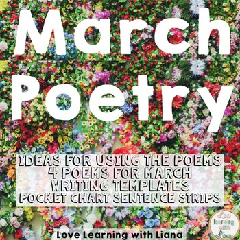 March Poetry St. Patricks Day, Spiders, Colors Poems, Writ