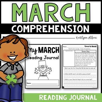March Reading Comprehension Passages - Journal