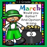 March St. Patrick's Day Opinion Would You Rather