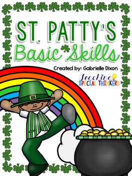 March St. Patty's Day Basic Skills Activity Pack for Stude