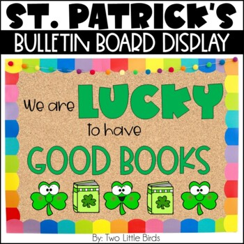 March Story Elements Bulletin Board