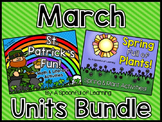 March Thematic Units BUNDLED