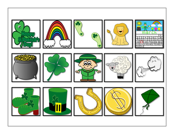 March Vocabulary Cariboo Cards