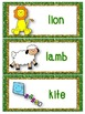 March Word Cards
