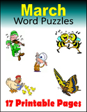 March Word Puzzles