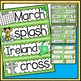 Word Wall and Tracing: March (St. Patrick's Day, Spring, S