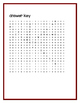 March Wordsearch