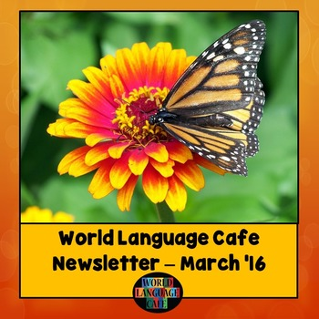 March World Language Cafe Newsletter