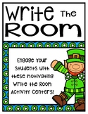 March Write the Room For Younger and OLDER Students