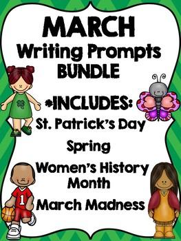March Writing BUNDLE