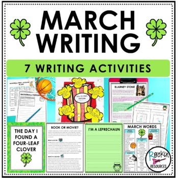 March Writing Bundle