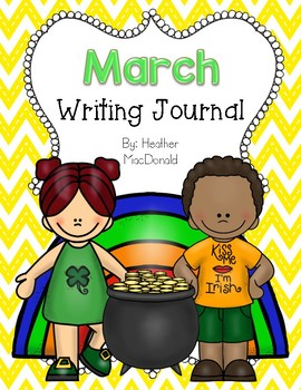 March Writing Journal Covers