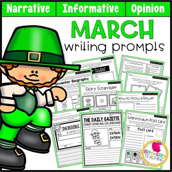 March Writing Prompts!