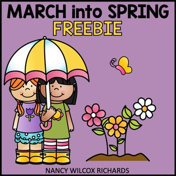 March into Spring: Literacy & Color by Number Freebie, No