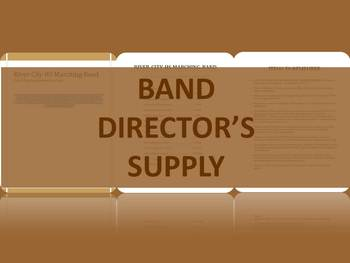 Marching Band Itinerary - Sample Two Contests in one day w