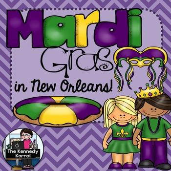 Mardi Gras Booklet {New Orleans Carnival}
