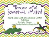 Mardi Gras Center Pack (Math and Literacy Activities)