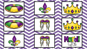 Mardi Gras Print and Go