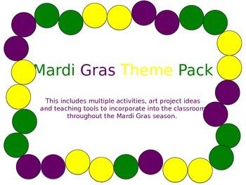 Mardi Gras Theme Pack