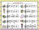 Mardi Gras Write-the-Room, Melodic Scavenger Hunt - Practi
