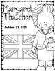 Margaret Thatcher: Biography Research Bundle {Report, Trif