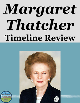 Margaret Thatcher Timeline Review