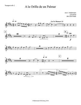 Mariachi: A la Orilla de un Palmar-Advanced Trumpet 2