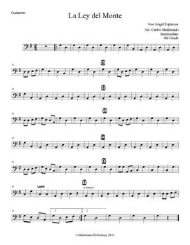 Mariachi: La Ley del Monte-Intermediate Guitarron
