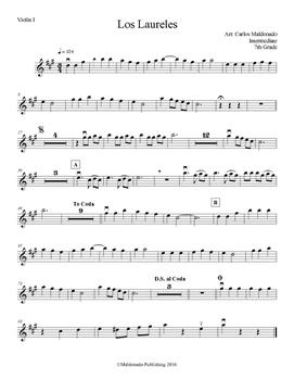 Mariachi: Los Laureles-Intermediate Violin I