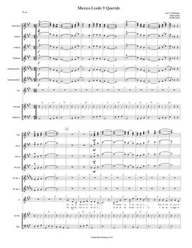 Mariachi: Mexico Lindo Y Querido - Intermediate Score