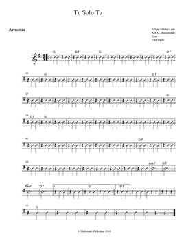 Mariachi: Tu Solo Tu-Easy Armonia