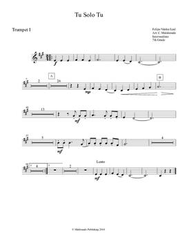 Mariachi: Tu Solo Tu-Intermediate Trumpet II