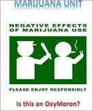 Marijuana Unit -- All Lessons Bundle