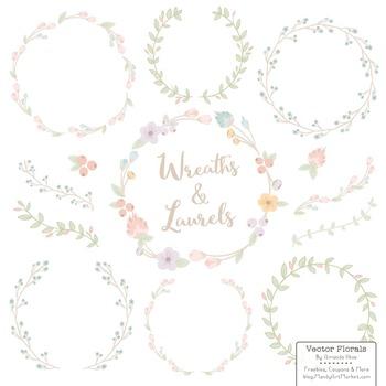 Marina Grandmas Garden Floral Wreaths & Laurels