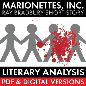 """Marionettes, Inc."" Literary Analysis Worksheet for Ray Br"
