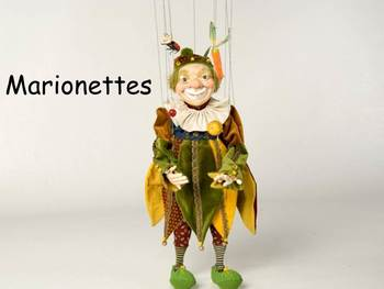 "Marionettes Nonfiction PowerPoint ""Book"" for First or Seco"