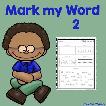 Mark My Word: Word Work 2