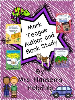 Mark Teague Author and Book Study Unit BUNDLE