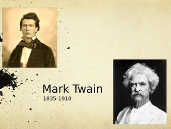 """Mark Twain's Life and Intro to """"The Celebrated Jumping Fro"""
