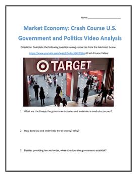 Market Economy: Crash Course U.S. Government and Politics