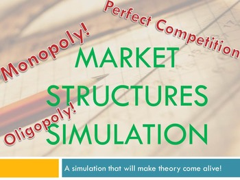Market Structures Simulation
