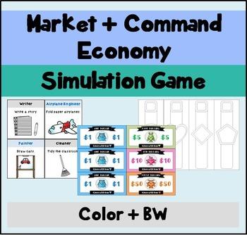 Economic System Simulation Game
