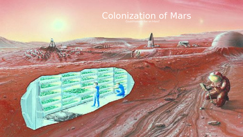 Mars Colonization - Is it Possible? Power Point facts info