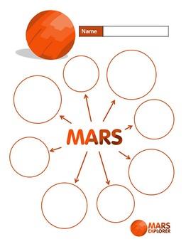 Mars Explorer writing paper