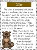 Marsh Animals - A First Grade Literacy Center