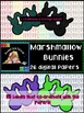 Clipart: Marshmallow Bunny Papers and Labels {Sweet Line D