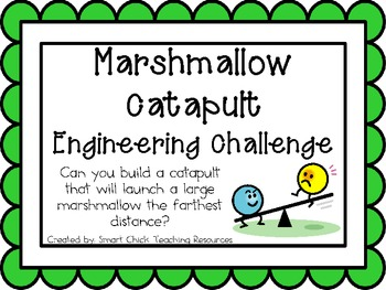 Marshmallow Catapult: Engineering Challenge Project ~ Grea