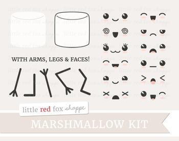 Marshmallow Kit Clipart