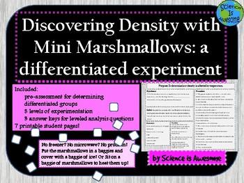 Density: A Marshmallow Experiment
