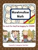 Marshmallow Math: Kindergarten/First Grade